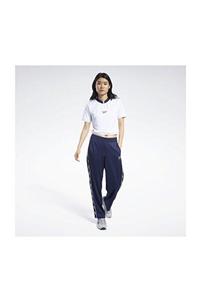 Reebok Kadın Yetişkin T-Shirt CL D CROPPED V NECK FT8121