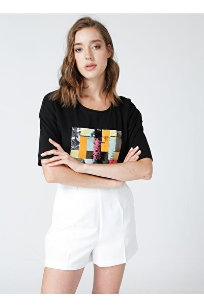 Fabrika Kadın Siyah T-shirt