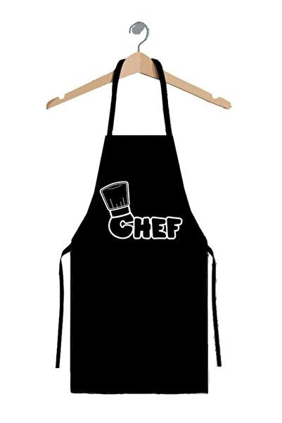 hediyekolisi Chef Baskılı Mutfak Önlüğü