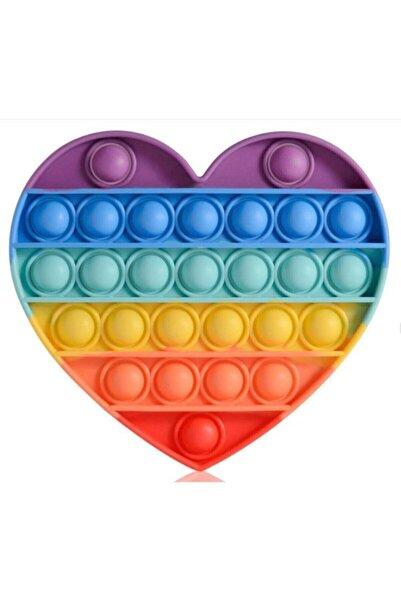 Başel Toys Özel Popit Duyusal Oyuncak Zihinsel Stres Kalp Oyuncak