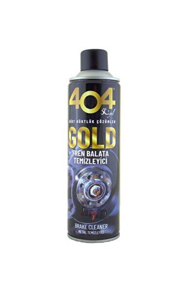 404 Kimya 404 Gold Frend Balata Metal Temizleme Spreyi 500ml