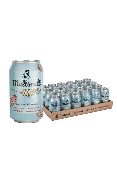 Multimalt Anne Sütü Arttıran Alkolsüz %100 Malt Ve Hurma Suyu 330 Ml X 24 Adet