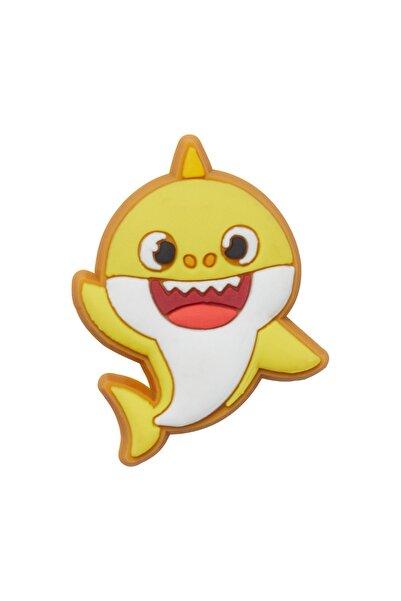 Crocs Jibbitz Sarı Baby Shark