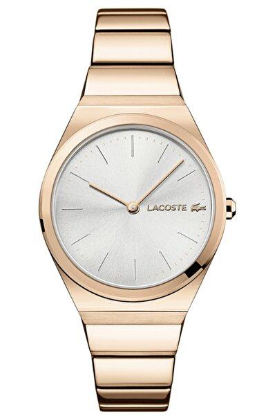Lacoste Kadın Pembe Altın Kol Saati 2001055