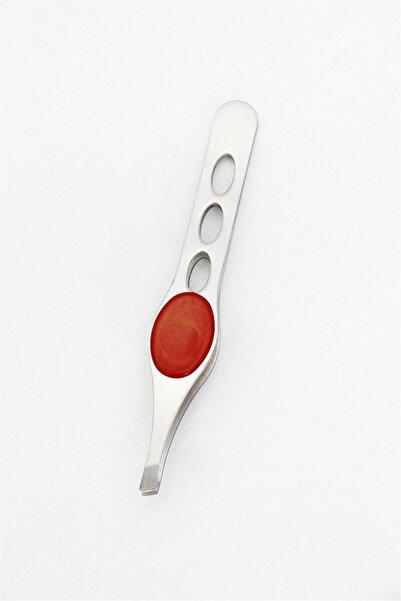 TAKIŞTIR Kırmızı Renk Tutuş Destekli Metal Cımbız