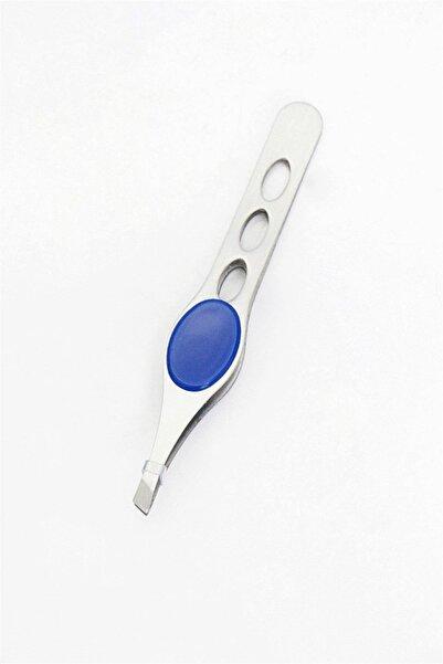 TAKIŞTIR Mavi Renk Tutuş Destekli Metal Cımbız
