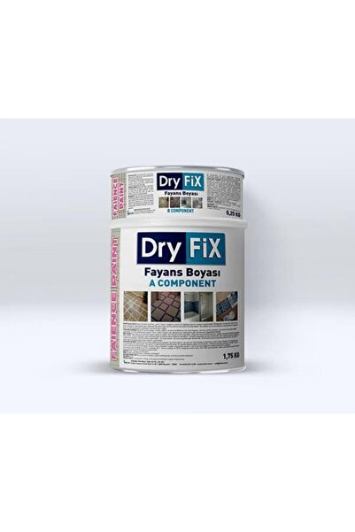Dryfix Fayans Boyası 2kg Fp-02 Açık Gri