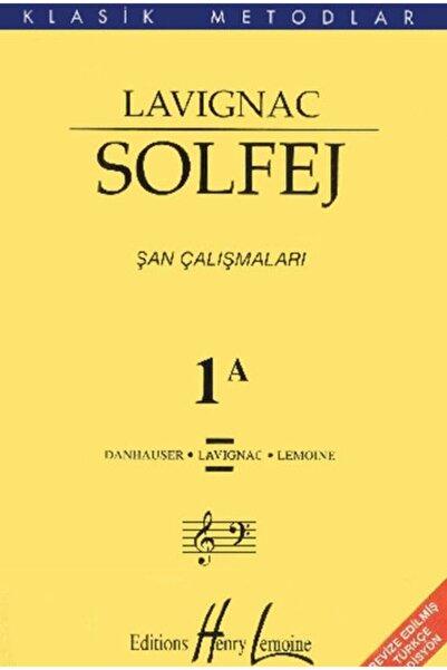 Portemem Yayınları Lavignac 1a Solfej Kitabı