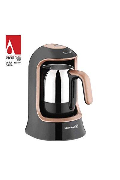 KORKMAZ A860-02 Kahvekolik Rosagold Otomatik Kahve Makinesi