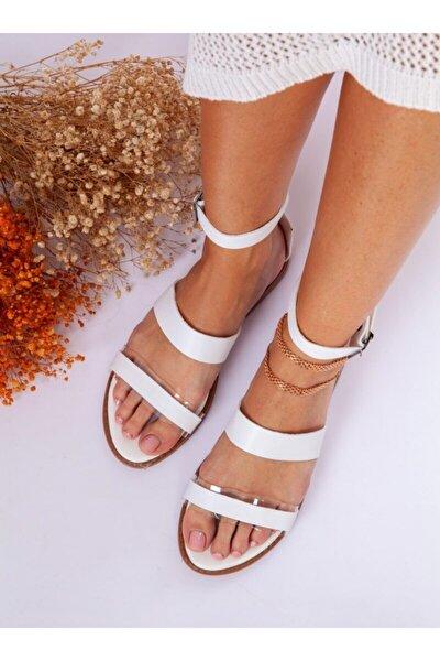 ayakkabıhavuzu Sandalet - Beyaz - Ayakkabı Havuzu
