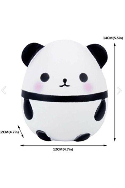 Squishy Jumbo Panda Büyük Boy Yavaş Yükselen (beyaz)