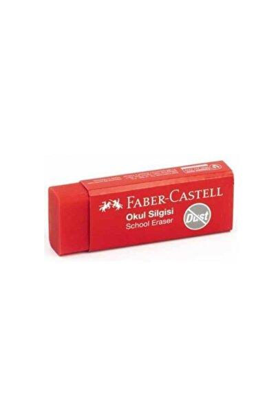 Faber Castell Okul Silgisi Dust Kırmızı 187223