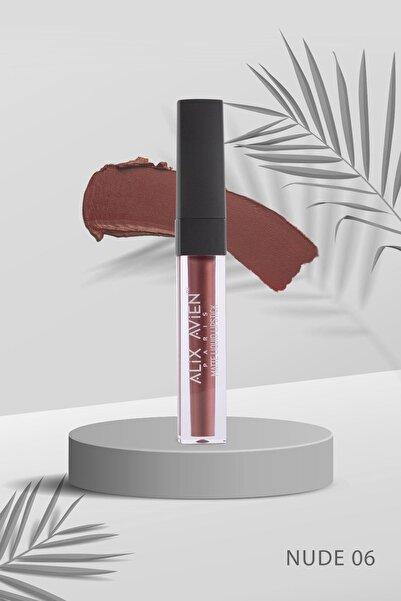 Alix Avien Nude Mat Likit Ruj Matte Liquid Lipstick 06