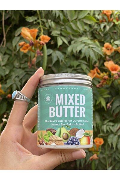 Trinova Mıxed Butter 9 Yağ Özü Içeren Onarıcı Ve Yapılandırıcı Durulanmayan Saç Bakımı Butteri 300ml