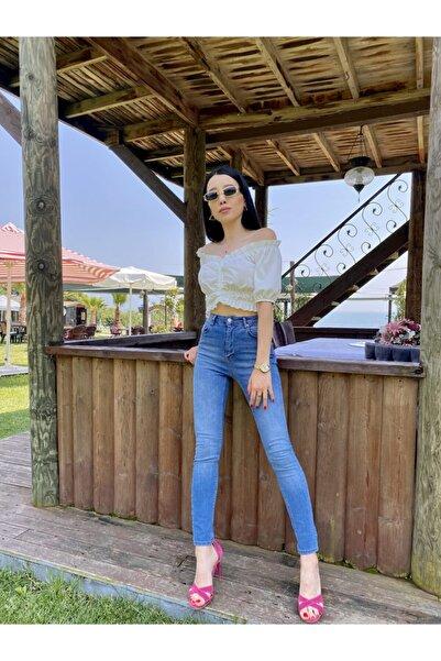 KAROL Skinny Push Up Jean Pantolon