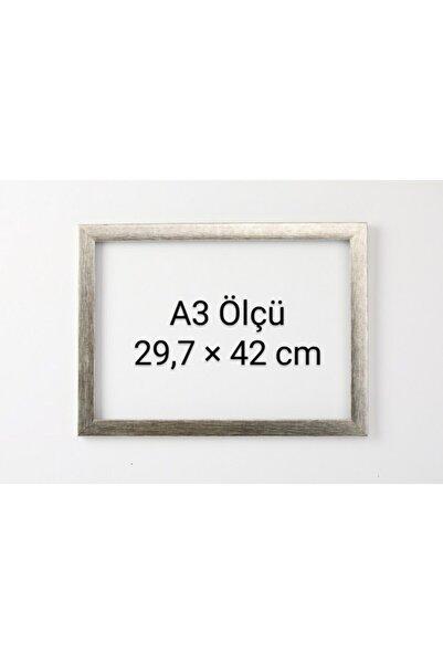 Tuğra Sanat Galerisi Standart A3 Çerçeve 29,7 X 42,0 Cm Iç Ölçü. Camlı 22 Mm Çerçeve