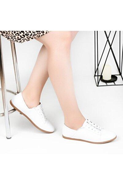 Pandora Kadın Pedik Deri  Günlük Ayakkabı Hs096 Orto