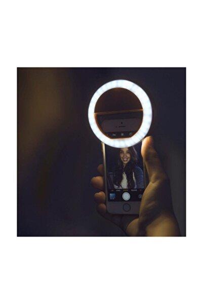 Zhuse Şarjlı Selfie, Öz Çekim Işığı, Selfi Işığı, Ön Kamera Led Işığı