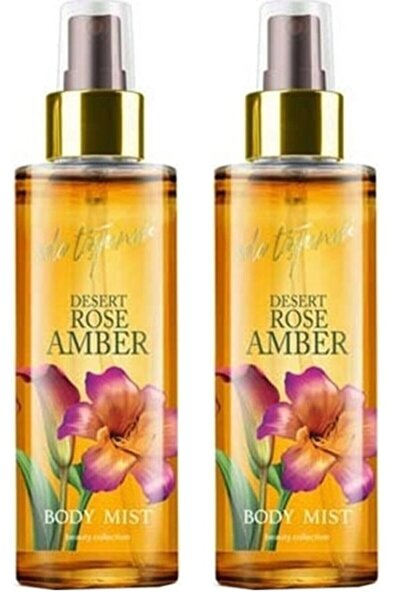 Eda Taşpınar Desert Rose Amber Body Mist Vücut Spreyi 200 Ml X 2