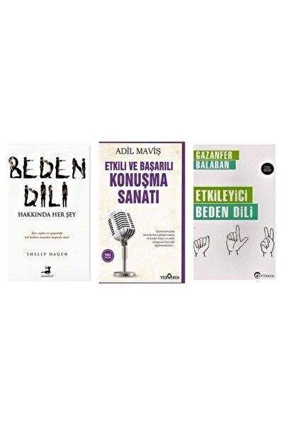 Olimpos Yayınları Beden Dili Hakkında Her Şey-etkili Ve Başarılı Konuşma Sanatı- Etkileyici Beden Dili 3 Kitap Set