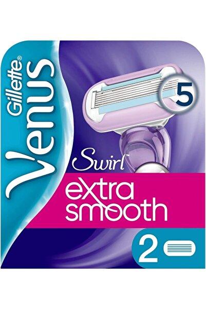 Gillette Venüs Venus Swirl Yedek Kadın Tıraş Bıçağı - 2'li