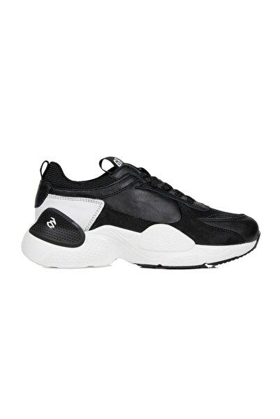Greyder Kadın Siyah Deri Sneaker Casual  Ayakkabı 29980