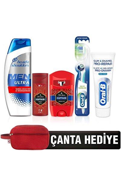 Head&Shoulders Oral-b Diş Macunu 75ml +head And Shoulders Şampuan 360ml +old Spice (şampuan+deo Stick) 50ml Captain