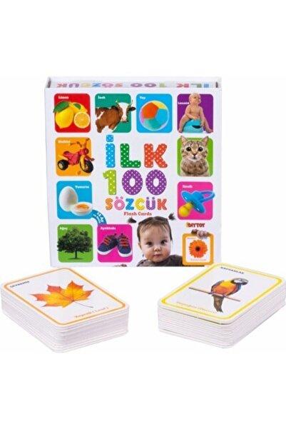 DIYTOY Ilk 100 Sözcük Kelime Zeka Oyun Kartları