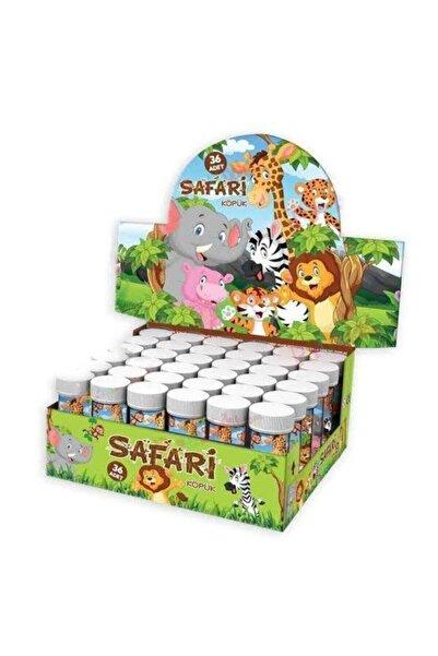 BambaPaw Safari 10'lu Köpük Balon Safari Sevimli Hayvanlar Köpük Baloncuk 10'lu