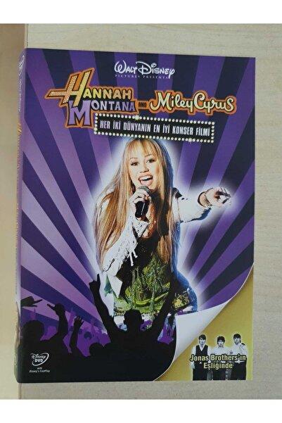 DISNEY Hannah Montana Ve Miley Cyrus Dvd - Her Iki Dünyanın En Iyi Konser Filmi