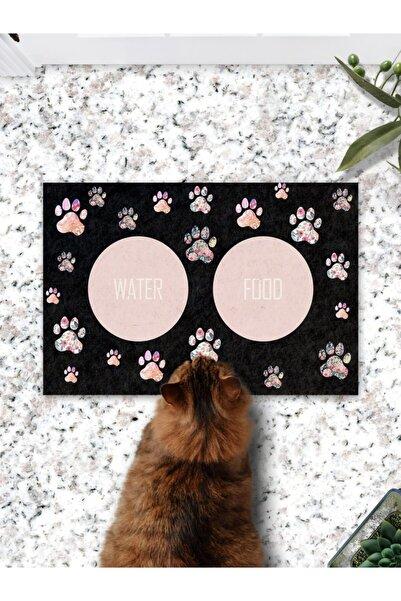 Patipeti Renkli Patiler Kedi Köpek Mama Eğitim Paspası Ve Beslenme Altlığı