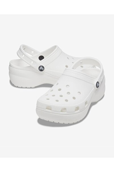 Crocs Classic Platform White