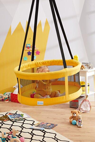 Svava Sepet Salıncak - Tavan Salıncağı - Çocuk Salıncağı (Sarı)