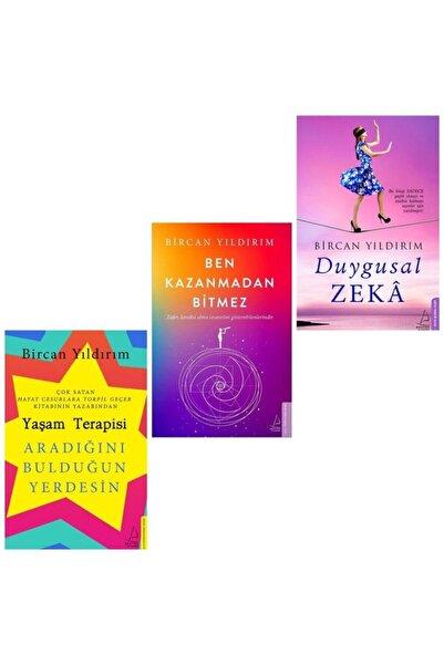 Destek Yayınları Duygusal Zeka - Ben Kazanmadan Bitmez - Yaşam Terapisi (bircan Yıldırım 3'lü Kitap Seti)
