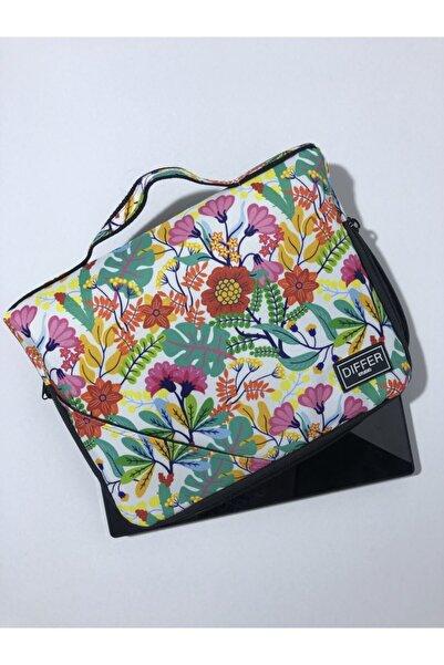 Differ Studio 10'' & 11'' Inç Çiçek Desenli Ipad/tablet Çantası/kılıfı