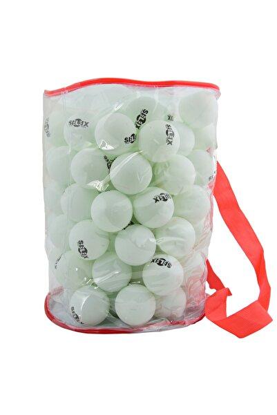 SELEX 100 Lü Eksiz Pinpon Topu (Beyaz)