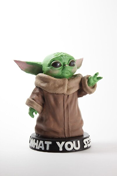 dream3d Yeşil Baby Yoda Figür  9 cm
