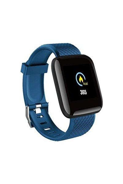 Everest Ew-508 Everwatch Android-ios Mavi Uyumlu Kalp Atışı Sensörlü Smart Akıllı Saat
