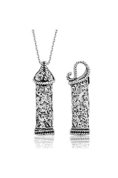 Gumush Kadın Gümüş Cevşen Kolye