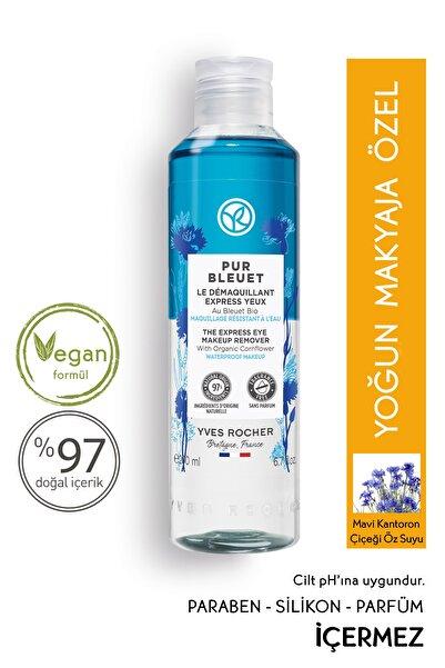Yves Rocher Pur Bleuet - Suya Dayanıklı Yoğun Makyaja Özel Ekspress Göz Makyaj Temizleyici - 200 ml