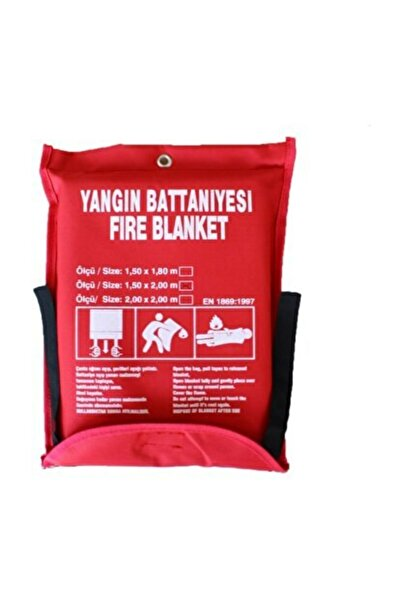 YIRGAL Yangın Söndürme Battaniyesi 150x200mm