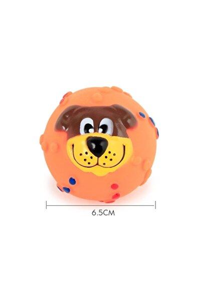Bobo Köpek Yüzü Şekilli Öten Köpek Oyuncağı 6.5 Cm