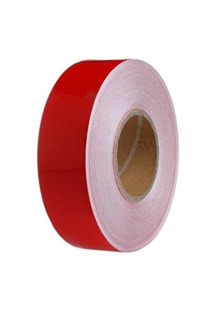 ModaCar 5 cm X 2.5 mt Petek Desen Kırmızı Fosfor Şerit 425078