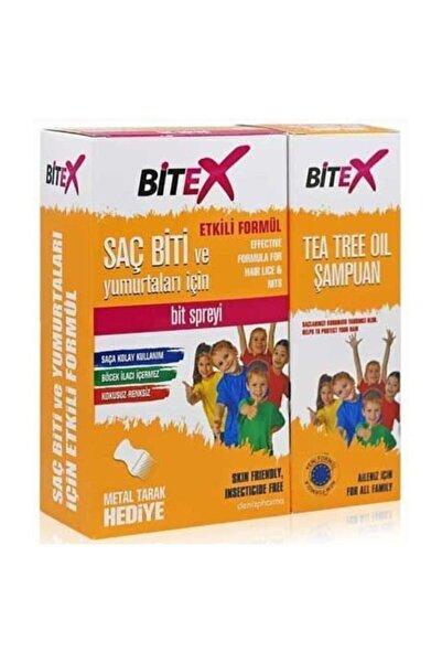Bitex Bit Spreyi 100 ml Çay Ağacı Şampuan 150 ml Hediyeli 8699956000930