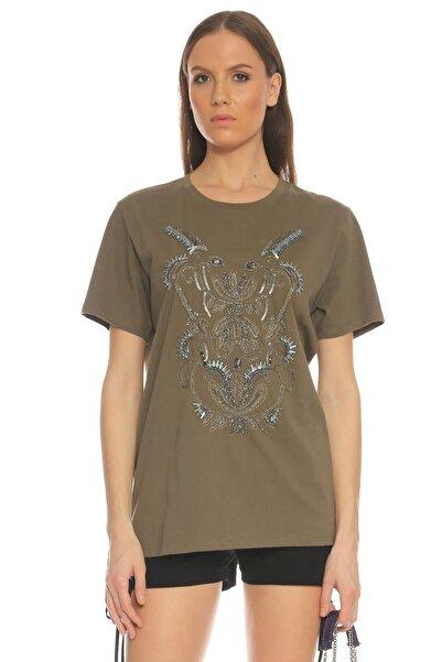 Barbara Bui Haki T-shirt