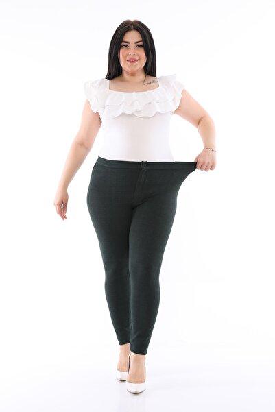 Loom Boutique Büyük Beden Likralı Pantalon