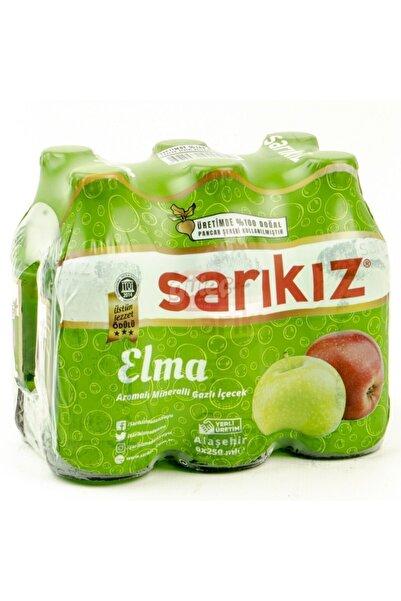 Sarıkız Elma Aromalı Soda 250 ml x 24 Adet
