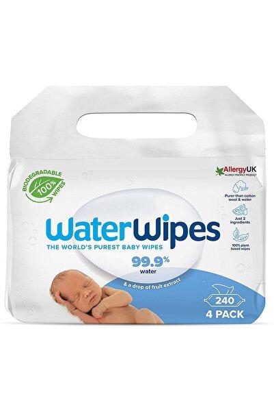 WaterWipes Yeni Biodegradable Original Baby Wipes (4x60 - 240 Yaprak)