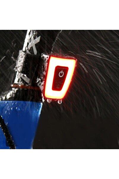 Cooltech Şarjlı Usb Bisiklet Stop Arka Lamba Uyarı Işığı Su Geçirmez Led 150 Lümen 3 Mod