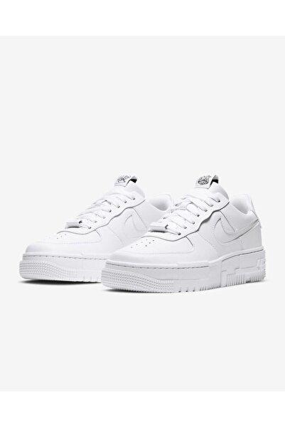 Nike Kadın Beyaz Spor Ayakkabı Air Force 1 Pixel / Ck6649-100